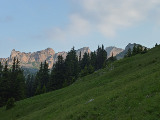 Foto: Manfred Karl / Klettersteig Tour / Haidachstellwand, Hans Obholzer Gedächtnissteig / 21.09.2014 21:00:41