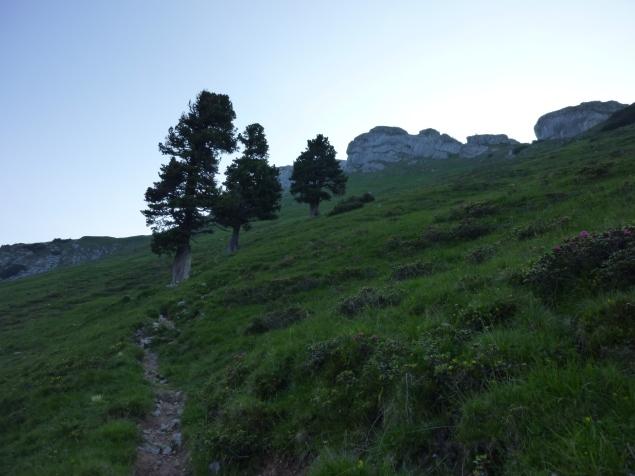 Foto: Manfred Karl / Klettersteig Tour / Haidachstellwand, Hans Obholzer Gedächtnissteig / 21.09.2014 21:00:35