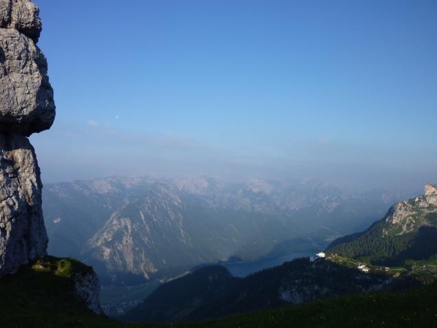 Foto: Manfred Karl / Klettersteig Tour / Haidachstellwand, Hans Obholzer Gedächtnissteig / 21.09.2014 21:00:18
