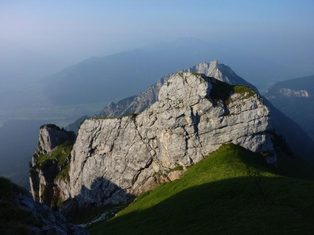 Foto: Manfred Karl / Klettersteig Tour / Haidachstellwand, Hans Obholzer Gedächtnissteig / 21.09.2014 21:00:13