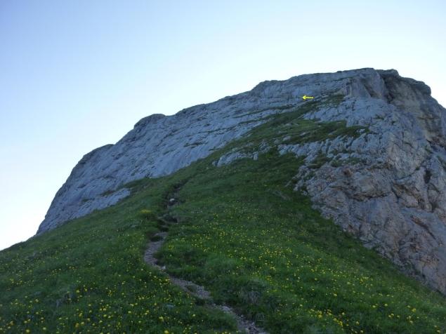 Foto: Manfred Karl / Klettersteig Tour / Haidachstellwand, Hans Obholzer Gedächtnissteig / 21.09.2014 21:00:03