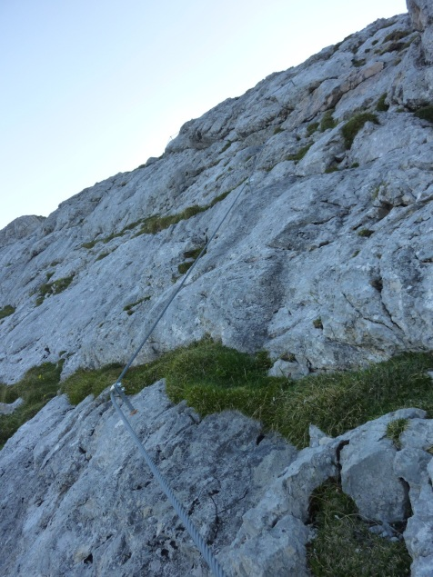 Foto: Manfred Karl / Klettersteig Tour / Haidachstellwand, Hans Obholzer Gedächtnissteig / 21.09.2014 20:59:09