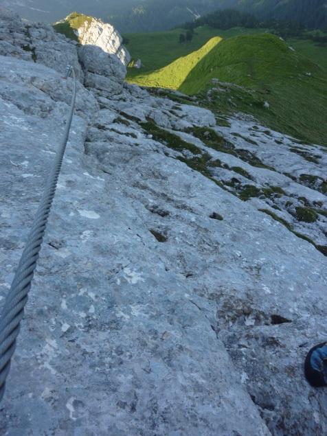 Foto: Manfred Karl / Klettersteig Tour / Haidachstellwand, Hans Obholzer Gedächtnissteig / 21.09.2014 20:59:03