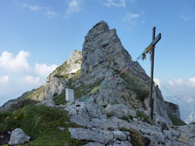 Foto: Manfred Karl / Klettersteig Tour / Haidachstellwand, Hans Obholzer Gedächtnissteig / 23.11.2012 22:42:57
