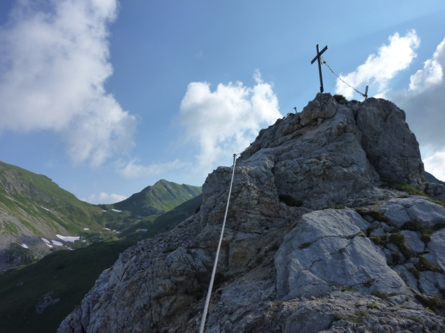 Foto: Manfred Karl / Klettersteig Tour / Haidachstellwand, Hans Obholzer Gedächtnissteig / 23.11.2012 22:42:42