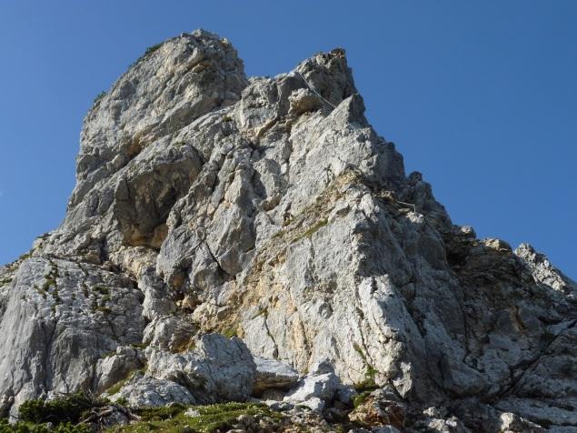 Foto: Manfred Karl / Klettersteig Tour / Haidachstellwand, Hans Obholzer Gedächtnissteig / 23.11.2012 22:42:27