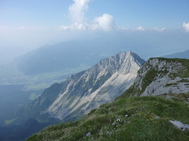 Foto: Manfred Karl / Klettersteig Tour / Haidachstellwand, Hans Obholzer Gedächtnissteig / Ebnerjoch / 27.09.2012 22:02:27
