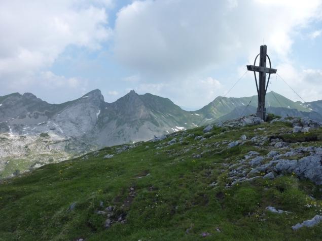 Foto: Manfred Karl / Klettersteig Tour / Haidachstellwand, Hans Obholzer Gedächtnissteig / Haidachstellwand / 27.09.2012 22:01:44