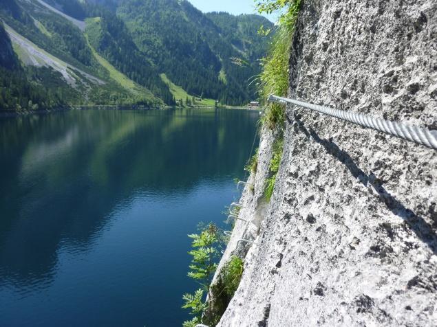 Klettersteig Gosausee : Fotogalerie tourfotos fotos zur klettersteig tour laserer alpin