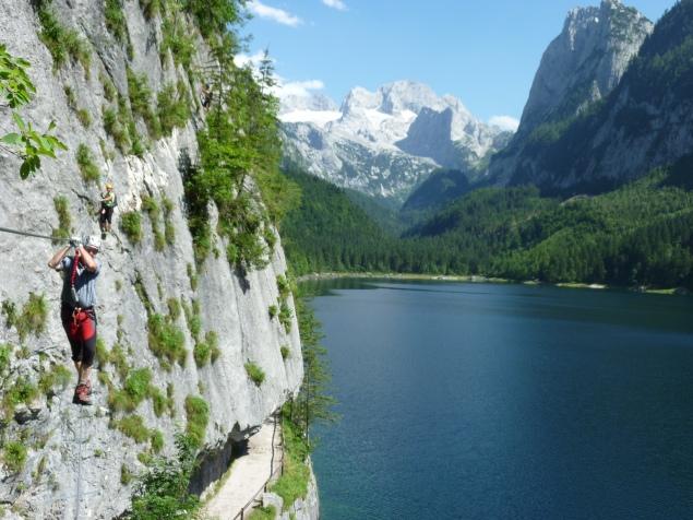 Klettersteig Gosausee : Fotogalerie tourfotos fotos zur klettersteig tour laserer