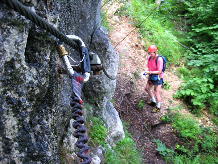 Klettersteig Wolfgangsee : Fotogalerie tourfotos fotos zur klettersteig tour brustwand