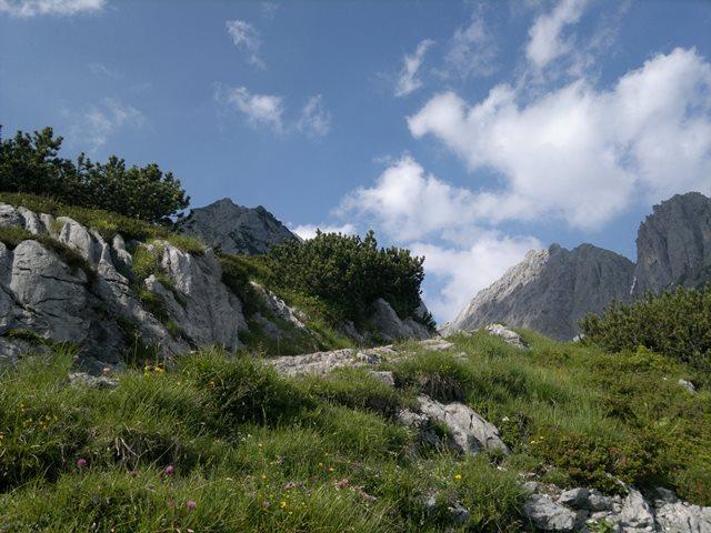 """Foto: goldengel80 / Klettersteigtour / Ellmauer Halt (2.344 m) über """"Gamsängersteig"""" / 05.10.2013 14:09:06"""