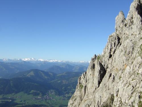 """Foto: hofchri / Klettersteigtour / Ellmauer Halt (2.344 m) über """"Gamsängersteig"""" / welch ein schöner Tag / 12.08.2010 20:28:19"""