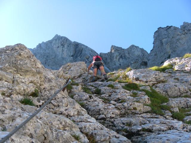 Klettersteig Wilder Kaiser : Fotogalerie tourfotos fotos zur klettersteig tour kufsteiner