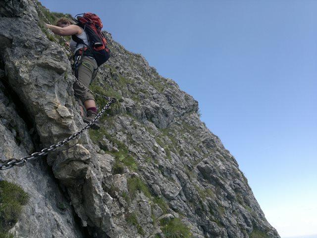 Klettersteig Am Ettaler Mandl : Fotogalerie tourfotos fotos zur klettersteig tour ettaler