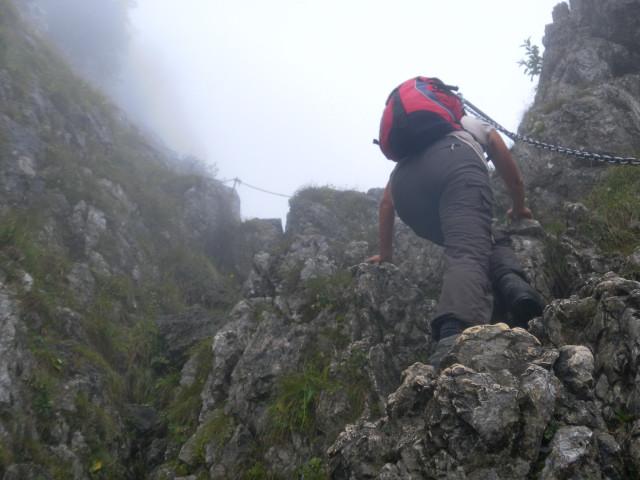 Klettersteig Weibl : Fotogalerie tourfotos fotos zur klettersteig tour ettaler