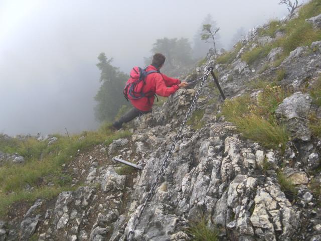 Ettaler Mandl Klettersteig : Fotogalerie tourfotos fotos zur klettersteig tour ettaler