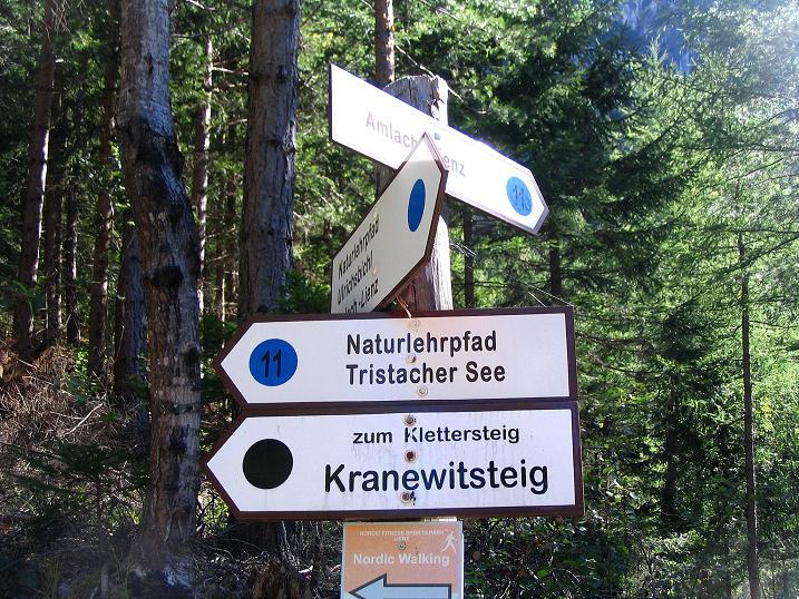 Foto: Andreas Koller / Klettersteigtour / Klettersteig Kranewitsteig (950m) / 09.09.2010 01:25:34