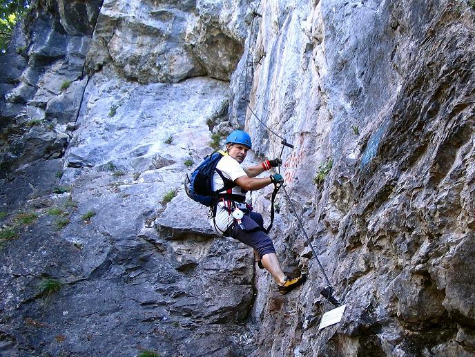 Foto: Andreas Koller / Klettersteigtour / Klettersteig Kranewitsteig (950m) / 09.09.2010 01:24:54