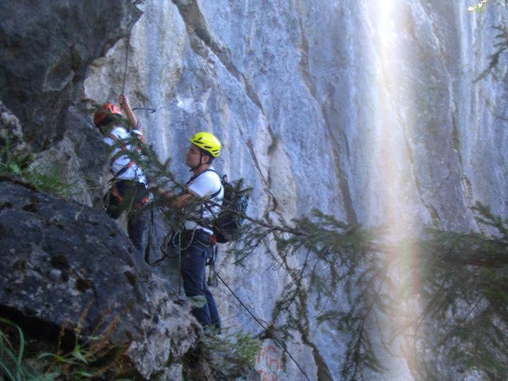 Foto: Andreas Koller / Klettersteigtour / Klettersteig Kranewitsteig (950m) / 09.09.2010 01:24:45