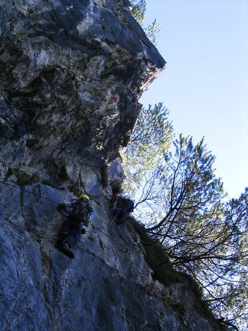 Foto: Andreas Koller / Klettersteigtour / Klettersteig Kranewitsteig (950m) / 09.09.2010 01:24:28