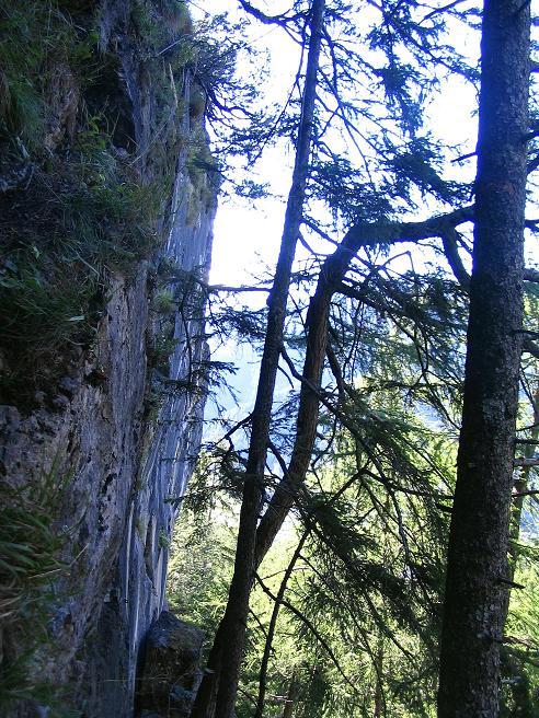 Foto: Andreas Koller / Klettersteigtour / Klettersteig Kranewitsteig (950m) / Rauchkofelwand / 09.09.2010 01:22:33