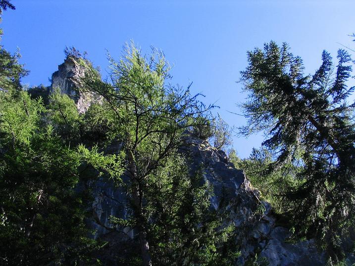 Foto: Andreas Koller / Klettersteigtour / Klettersteig Kranewitsteig (950m) / Rauchkofelwand / 09.09.2010 01:21:43