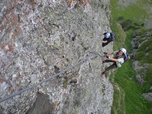Foto: scouty_caro / Klettersteigtour / Falken Klettersteig (D) / 22.09.2010 10:43:19
