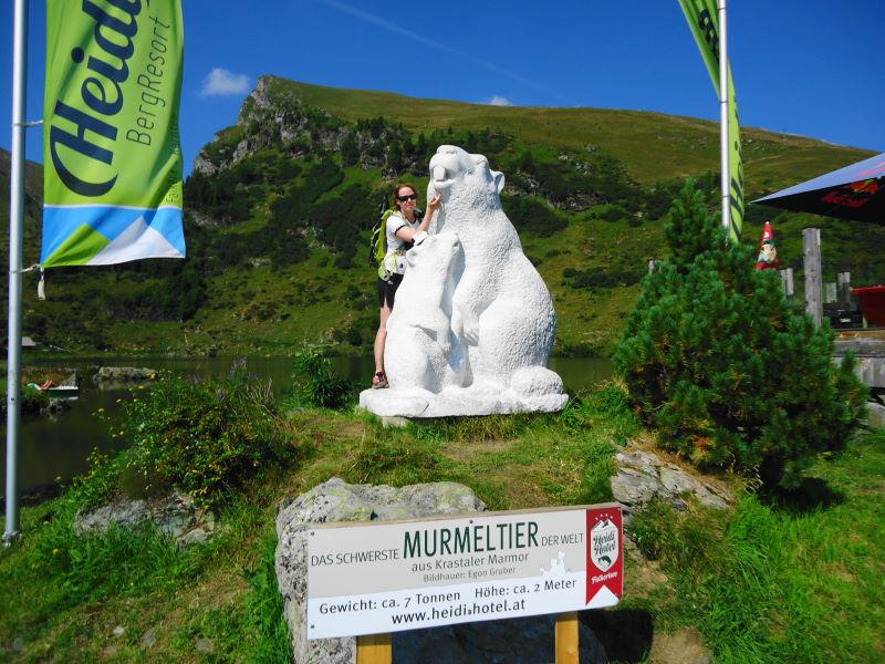 Foto: Günter Siegl / Klettersteigtour / Falken Klettersteig (D) / Murmeltier! / 07.09.2015 20:36:41