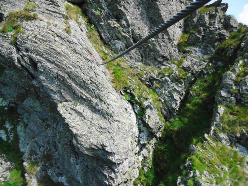 Foto: Günter Siegl / Klettersteigtour / Falken Klettersteig (D) / Seilbrücke / 07.09.2015 20:32:21