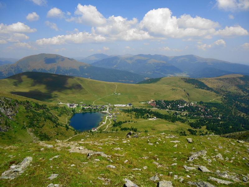 Foto: Günter Siegl / Klettersteigtour / Falken Klettersteig (D) / Links Rinsennock, im Hintergrund Eisenhut / 07.09.2015 20:22:37