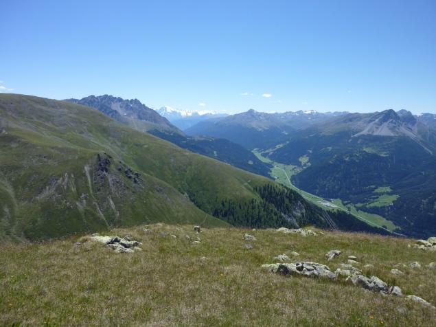 Foto: Manfred Karl / Wandertour / Gaispleiskopf, 2718 m / Der Blick reicht bis zum Ortler / 26.09.2010 20:16:07