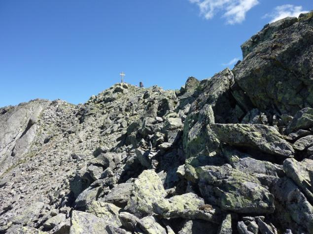 Foto: Manfred Karl / Wandertour / Gaispleiskopf, 2718 m / Kurz vor dem Gipfel / 26.09.2010 20:14:37