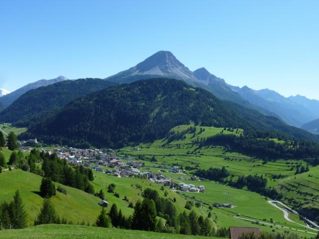 Foto: Manfred Karl / Wandertour / Gaispleiskopf, 2718 m / Nauders mit Piz Lad / 26.09.2010 20:06:49