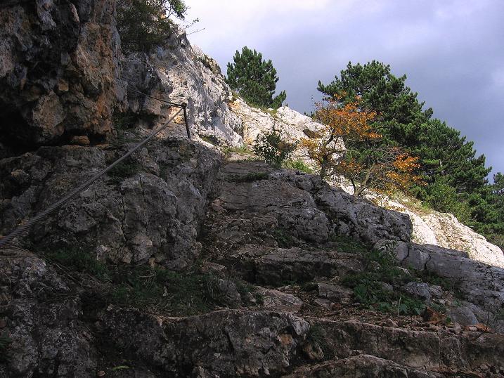 Klettersteig Hohe Wand : Hohe wand wagnersteig und springlessteig angelos touren