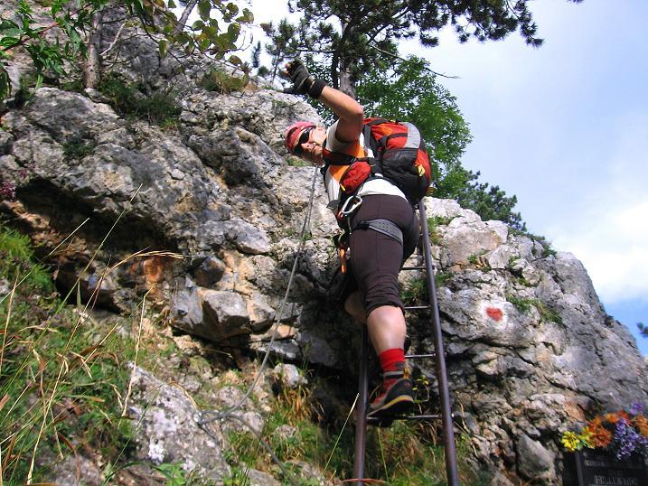 Klettersteig Niederösterreich : Fotogalerie tourfotos fotos zur klettersteig tour Über den