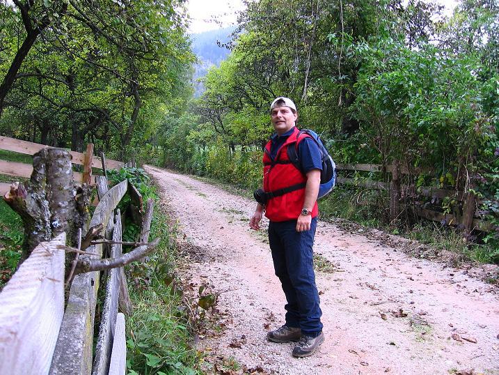 Foto: Andreas Koller / Klettersteigtour / Auf dem Naturfreundesteig durch die Kleine Klause (1002m) / Von Dürnbach in die Kleine Klause / 17.10.2010 17:51:05