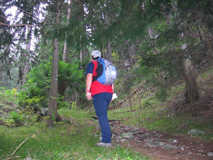 Foto: Andreas Koller / Klettersteigtour / Auf dem Naturfreundesteig durch die Kleine Klause (1002m) / Schöner Waldzustieg / 17.10.2010 17:50:23