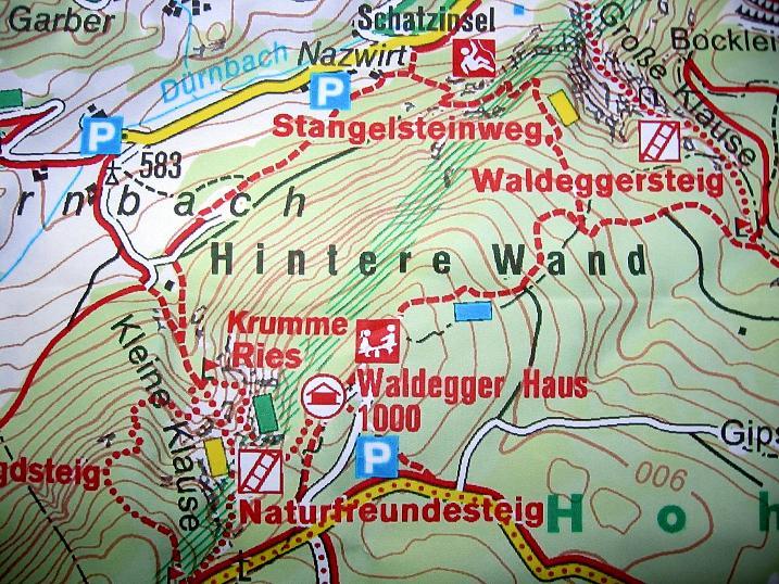 Foto: Andreas Koller / Klettersteigtour / Auf dem Naturfreundesteig durch die Kleine Klause (1002m) / 17.10.2010 17:50:04