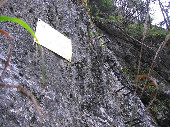Foto: Andreas Koller / Klettersteigtour / Auf dem Naturfreundesteig durch die Kleine Klause (1002m) / 17.10.2010 17:48:57