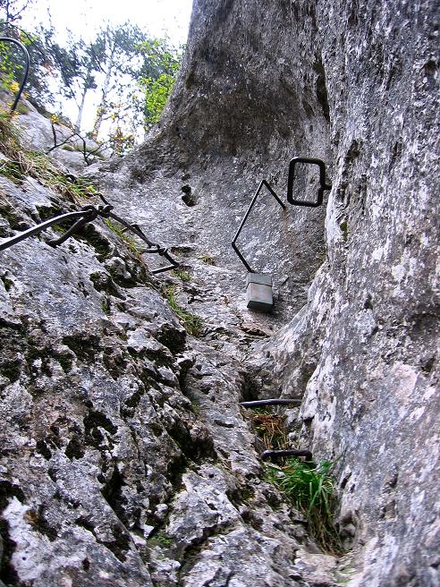 Foto: Andreas Koller / Klettersteigtour / Auf dem Naturfreundesteig durch die Kleine Klause (1002m) / 17.10.2010 17:47:06