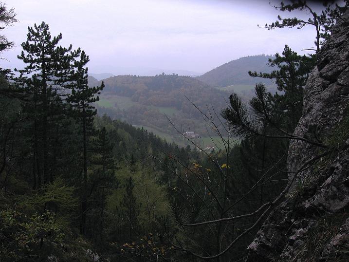 Foto: Andreas Koller / Klettersteigtour / Auf dem Naturfreundesteig durch die Kleine Klause (1002m) / 17.10.2010 17:46:57