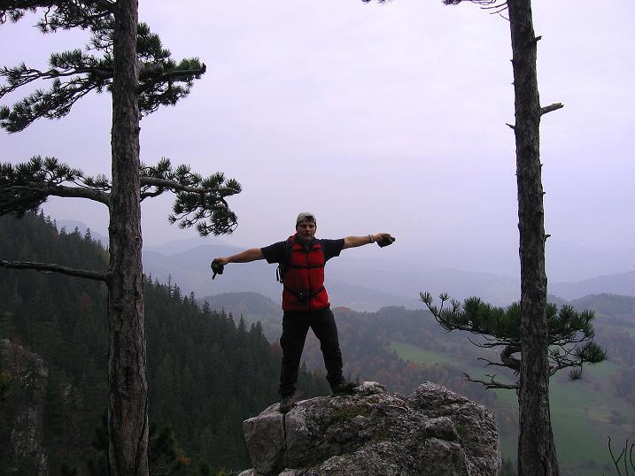 Foto: Andreas Koller / Klettersteigtour / Auf dem Naturfreundesteig durch die Kleine Klause (1002m) / Krumme Ries / 17.10.2010 17:45:00