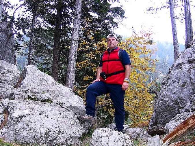 Foto: Andreas Koller / Klettersteigtour / Auf dem Naturfreundesteig durch die Kleine Klause (1002m) / 17.10.2010 17:44:09