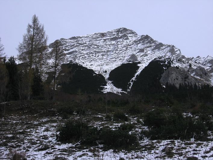 Foto: Andreas Koller / Schneeschuhtour / Über den Südwestgrat auf den Scheiblingstein (2197m) / Großer Pyhrgas (2244m) / 25.10.2010 16:39:31