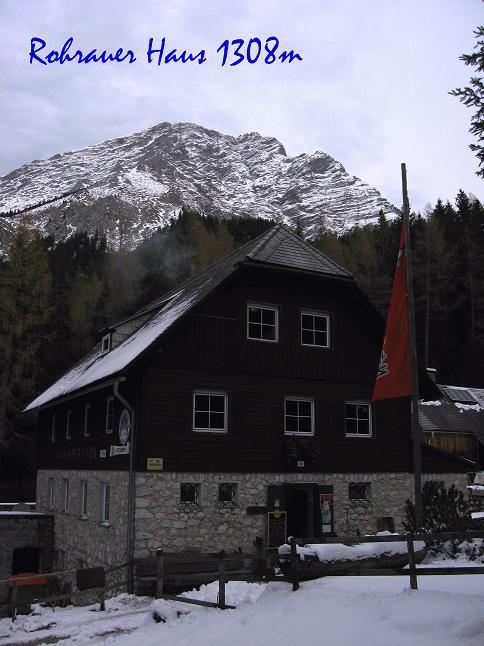 Foto: Andreas Koller / Schneeschuhtour / Über den Südwestgrat auf den Scheiblingstein (2197m) / 25.10.2010 16:39:19