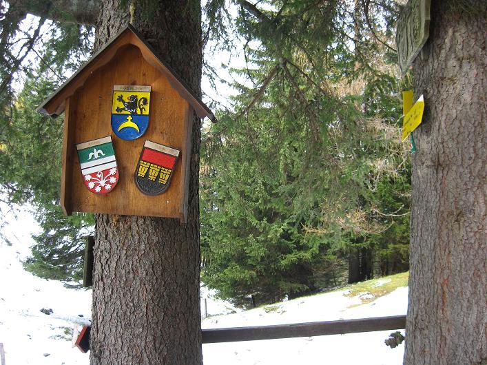 Foto: Andreas Koller / Schneeschuhtour / Über den Südwestgrat auf den Scheiblingstein (2197m) / Pyhrgasgatterl / 25.10.2010 16:39:05