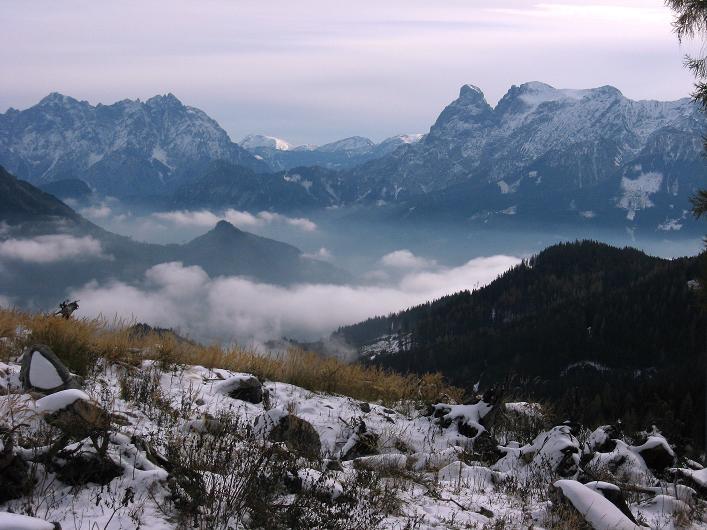Foto: Andreas Koller / Schneeschuhtour / Über den Südwestgrat auf den Scheiblingstein (2197m) / Admonter Becken und Gesäuse / 25.10.2010 16:38:04