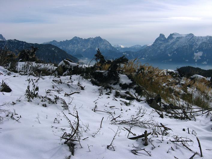 Foto: Andreas Koller / Schneeschuhtour / Über den Südwestgrat auf den Scheiblingstein (2197m) / 25.10.2010 16:37:40