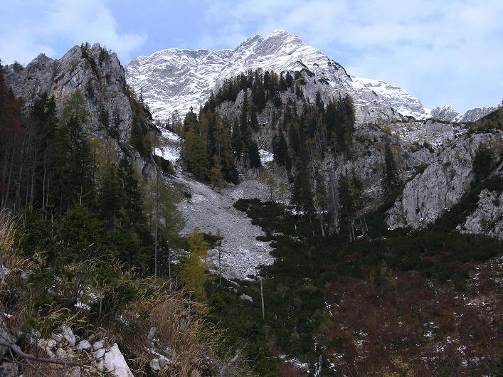 Foto: Andreas Koller / Schneeschuhtour / Über den Südwestgrat auf den Scheiblingstein (2197m) / Großer Pyhrgas (2244m) / 25.10.2010 16:37:14